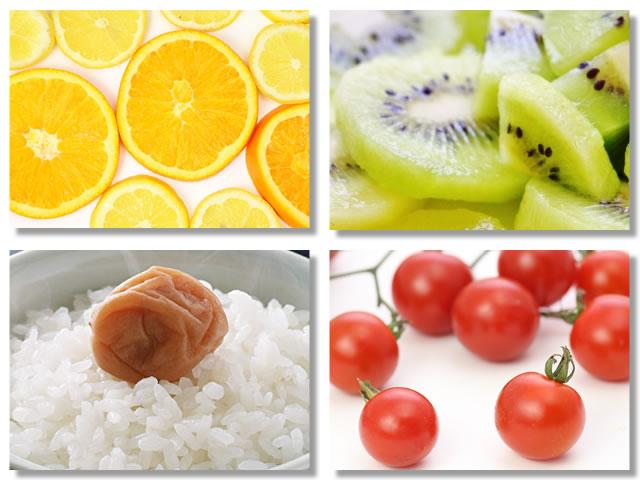 クエン酸の多い食べ物