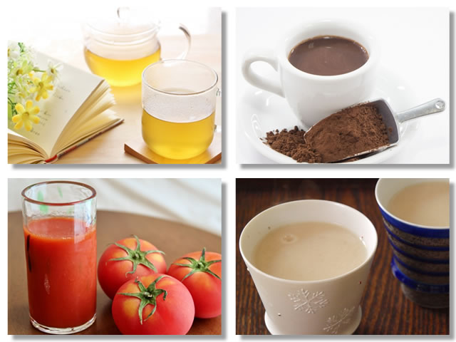 自律神経を整える方法:飲み物