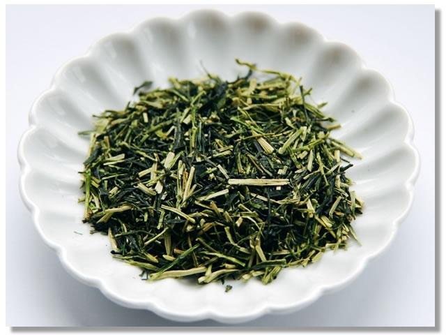 緑茶風呂に使う緑茶の茶葉