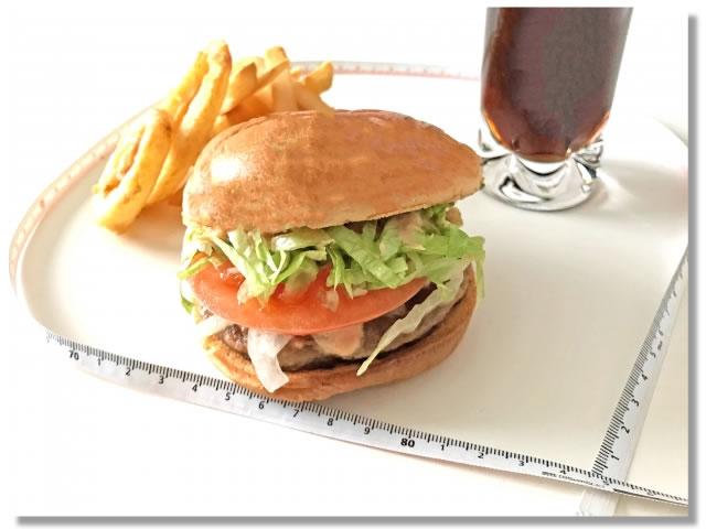 ハンバーガーやフレンチフライ