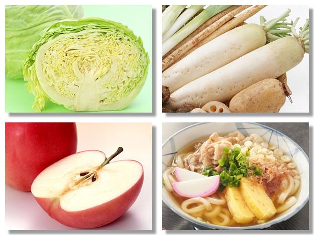 胃もたれを治す食べ物
