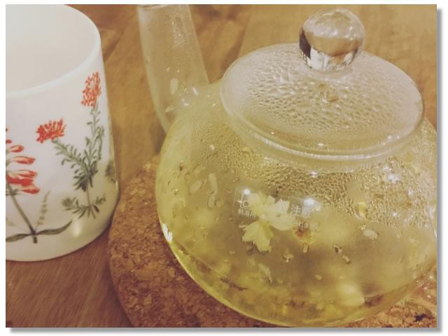 副交感神経を優位にするジャスミン茶