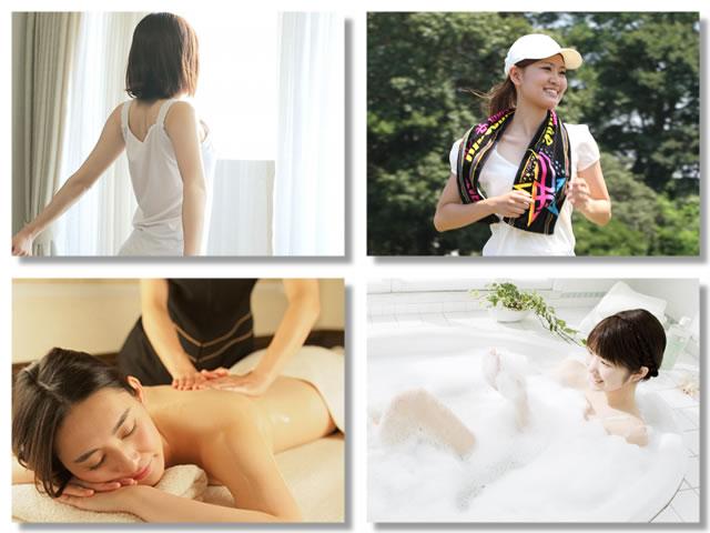 自律神経が原因の胃もたれを治すには目覚めの日光や運動やマッサージやお風呂
