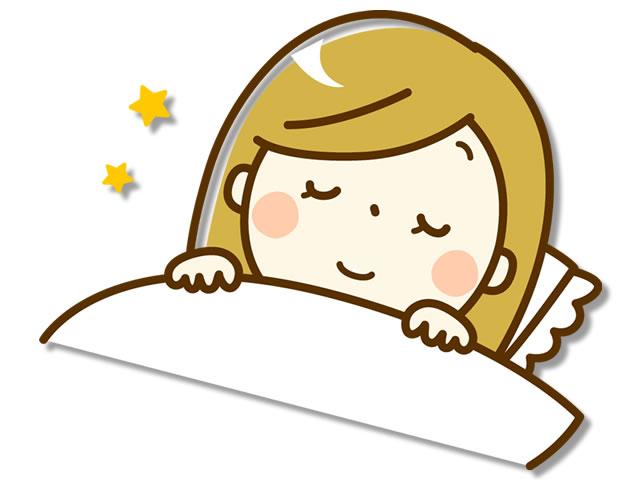 睡眠もインフルエンザ予防のポイント