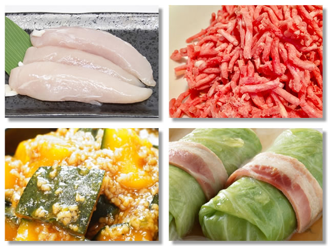 消化の良いお肉はささみやひき肉