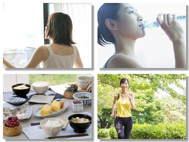 低血圧を改善する方法として早寝早起きや水分補給や食事や運動