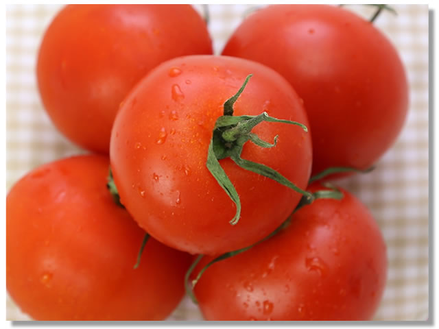 リコピンも健康効果も高いトマト