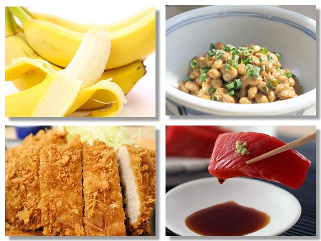 トリプトファンの多い食べ物・飲み物