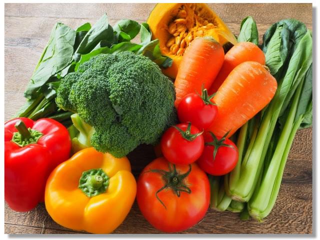 酵素の多い野菜いろいろ