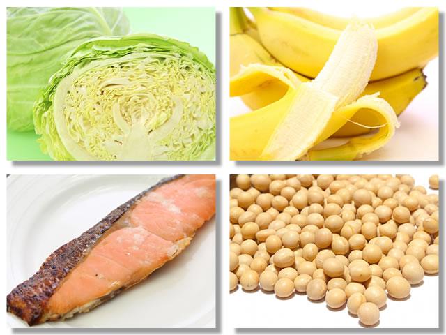 ビタミンB6の多い食べ物・飲み物