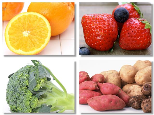 口内炎の予防・改善に効果的なビタミンCの多い食べ物