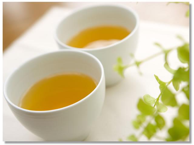 お風呂の入浴剤として緑茶