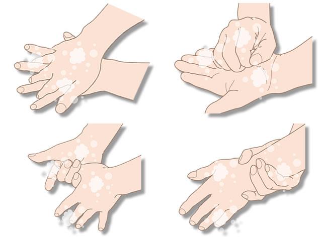 感染予防に正しい手洗いの方法