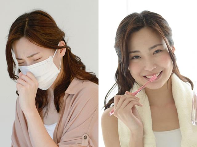 インフルエンザウイルスと歯磨き