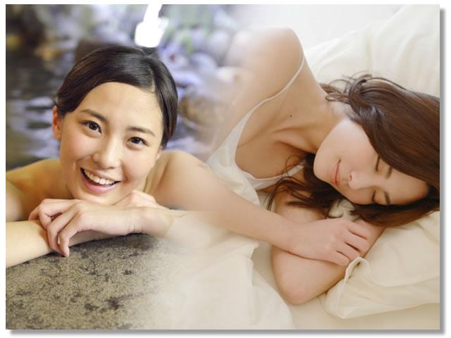 睡眠の質を高めるお風呂