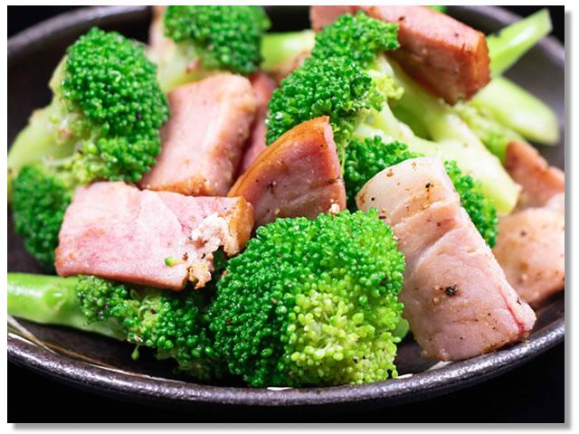 ブロッコリーの温野菜