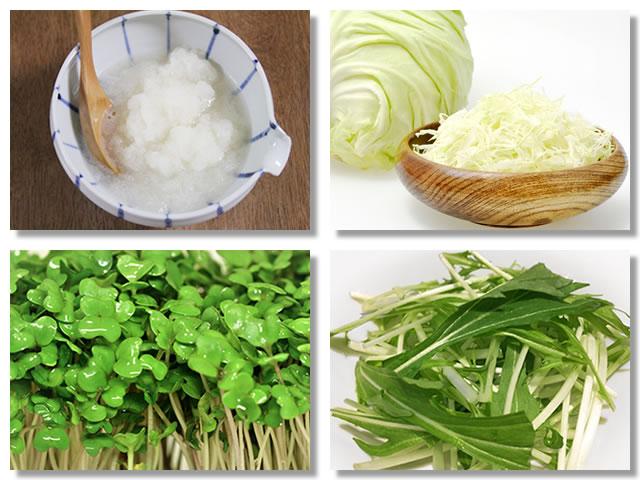 イソチオシアネートの多い野菜と食べ方