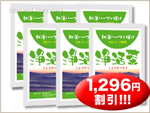 浄活茶(じょうかつちゃ)6袋セット