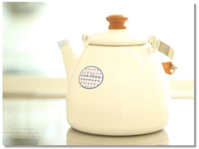 浄活茶の入れ方(1)やかんで煮出して5分間