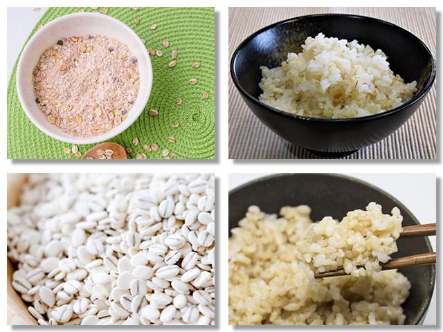 食物繊維の多い穀物