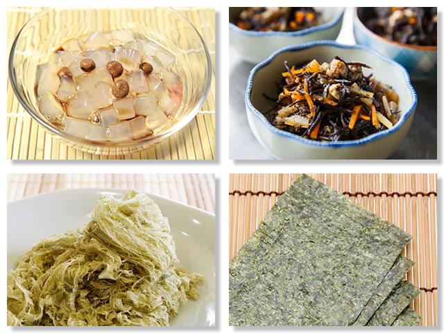食物繊維の多い海藻