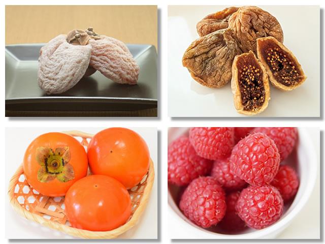 不溶性食物繊維の多い果物