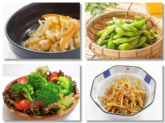不溶性食物繊維の多い野菜