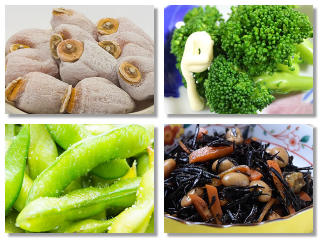食物繊維の多い食べ物