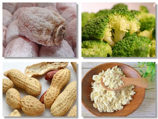 不溶性食物繊維の多い食べ物