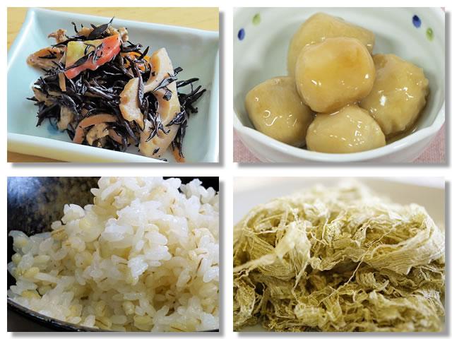 水溶性食物繊維の多い食べ物