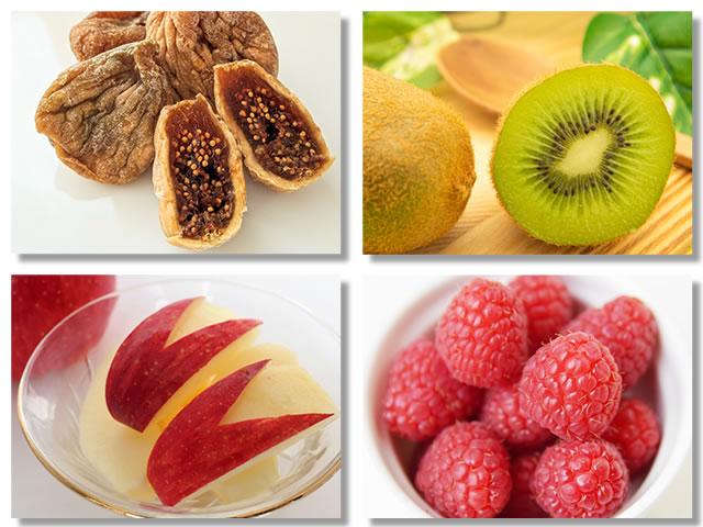 水溶性食物繊維の多い果物
