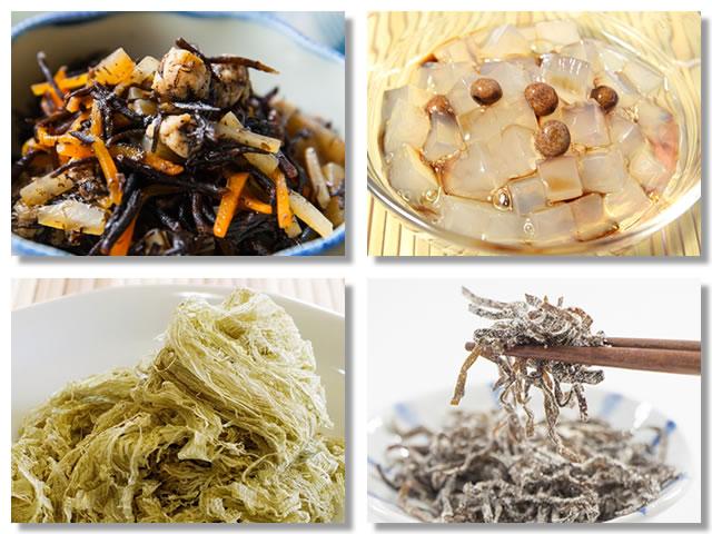 水溶性食物繊維の多い海藻