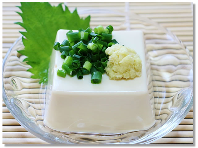 絹ごし豆腐