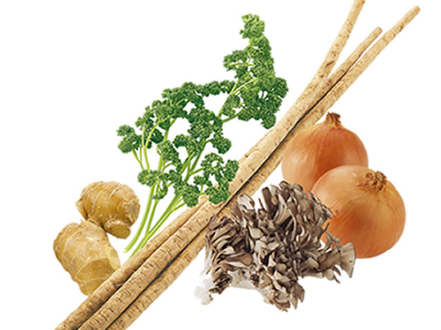 野菜力で輝け-原材料