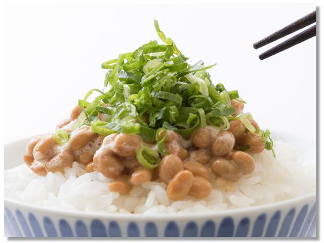 納豆とネギの食べ合わせ