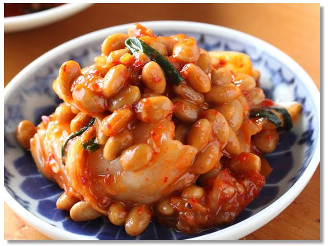 納豆とキムチの食べ合わせ