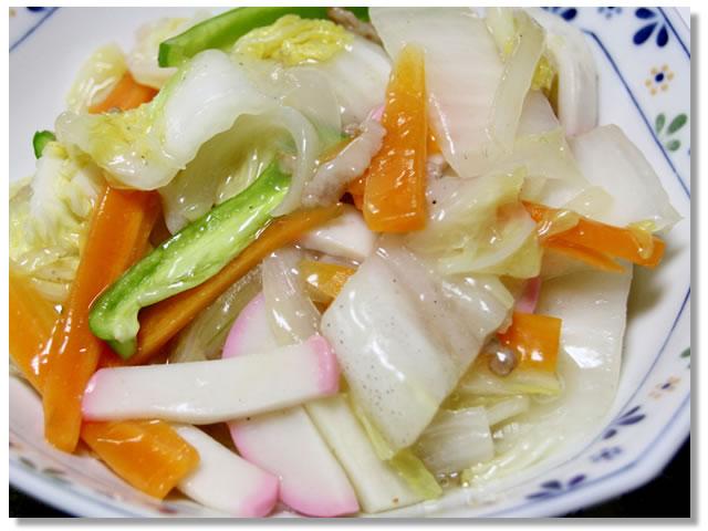 白菜の炒め物