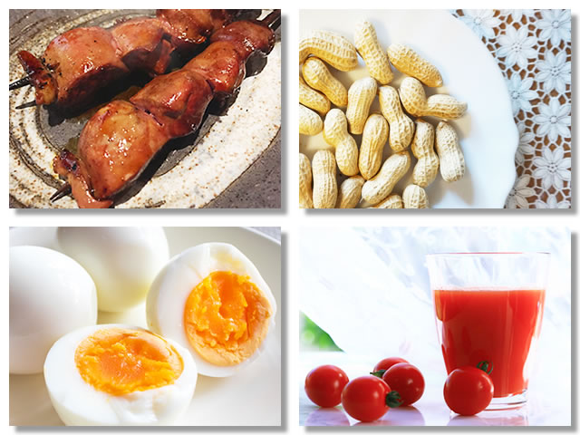 ビオチンの多い食べ物