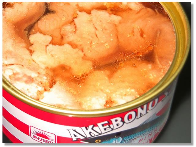 鮭の水煮缶詰