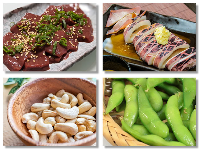 銅の多い食べ物