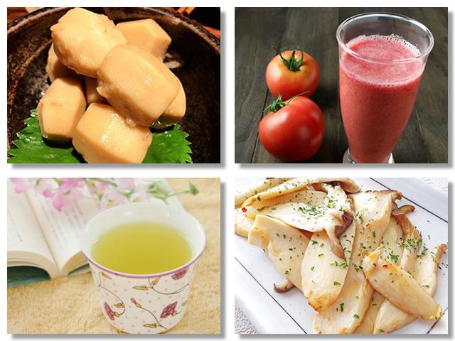 カリウムの多い食べ物