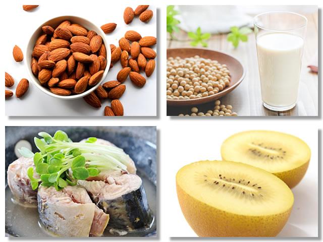 ビタミンEの多い食べ物