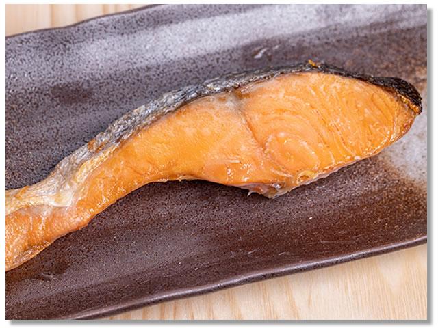 しろさけ(白鮭)の塩焼き