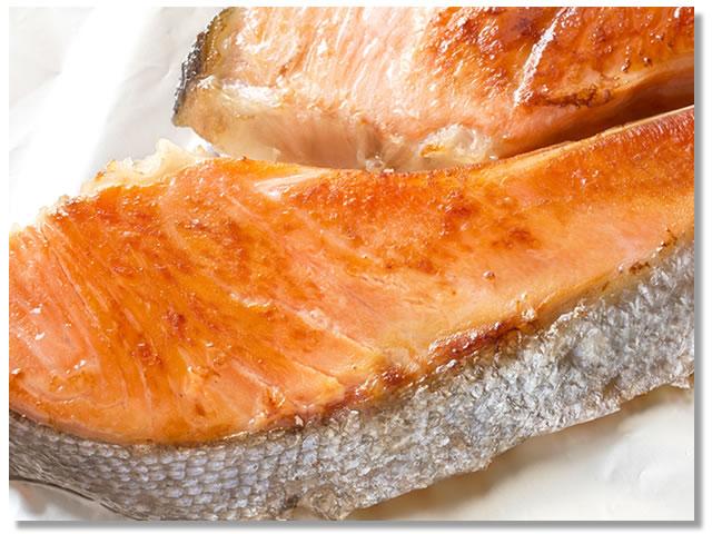 白鮭の塩焼き