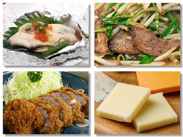 亜鉛の多い食べ物