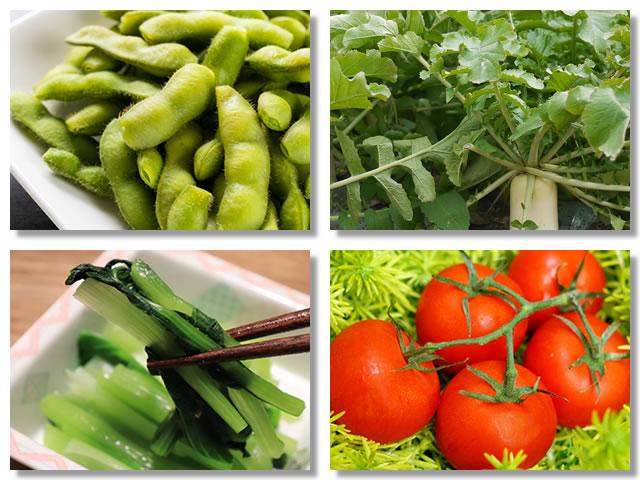 鉄分の多い野菜