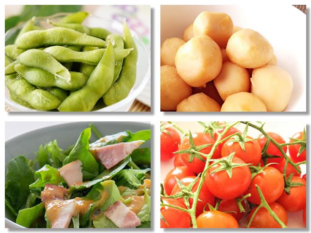 マグネシウムの多い野菜
