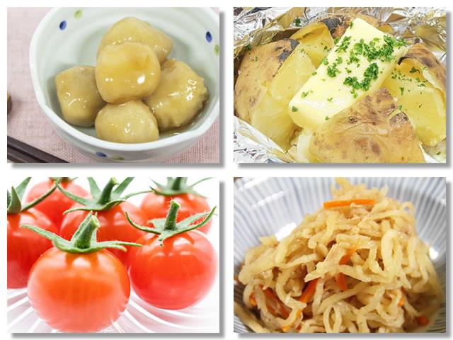 カリウムの多い野菜