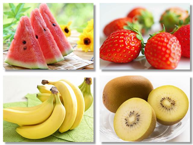 カリウムの多い果物