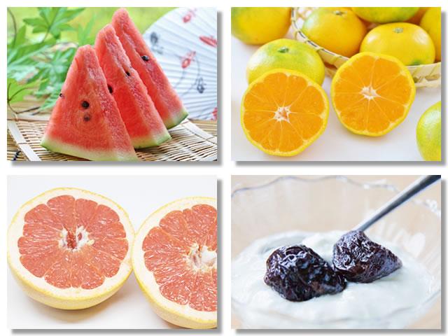 ビタミンAの多い果物